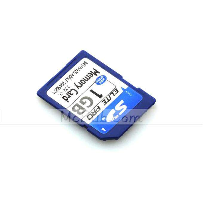 Secure Digital Memory Card Capacidade 1GB SD