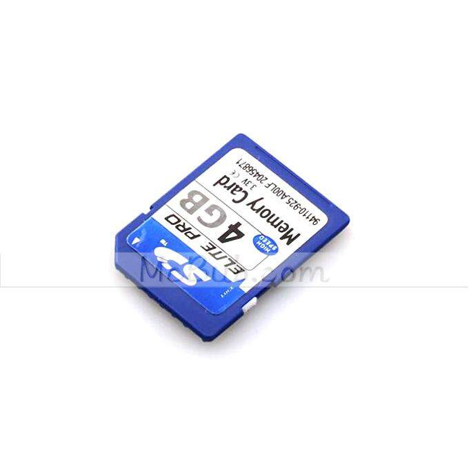 Secure Digital Memory Card Capacidade 4GB SD