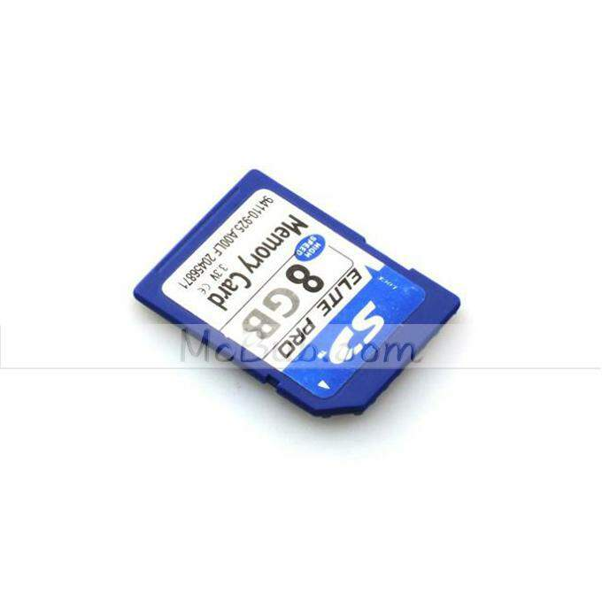 Secure Digital Memory Card Capacidade 8GB SD