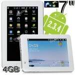 """Google Android 2.3.4 7 \""""Multi-Touch Screen WiFi PC Tablet Netbook PDA UMPC (Sun4i ARMv7/314MB DDR3/4GB HD"""
