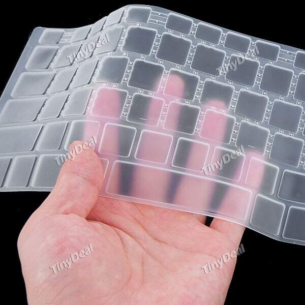 Silicone Keyboard Protector Skin Cover Film for Toshiba Satellite L850 L855 Series Laptop PC