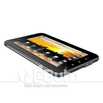 7 polegadas Telefone Android 4.0 Tablet PC GSM850/900/1800/1900 VIA 8850 4GB ROM