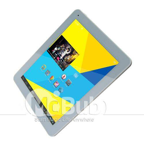 V99 de 9,7 polegadas Android 4,1 Tablet PC Tela Retina IPS 2048 * 1536 RK3066 1.6GHz Dual Core 1GB RAM 16GB