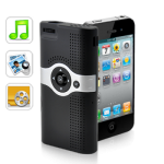 Mini Projetor para iPhone 4 e 3GS (SD, AV IN)