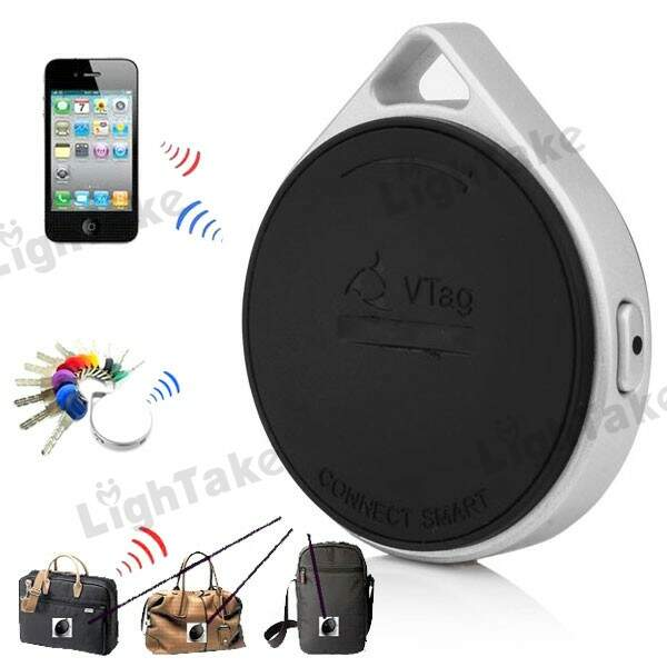 IPad iPhone VTAG dispositivo Anti-Lost Locator objeto Finder - Preto
