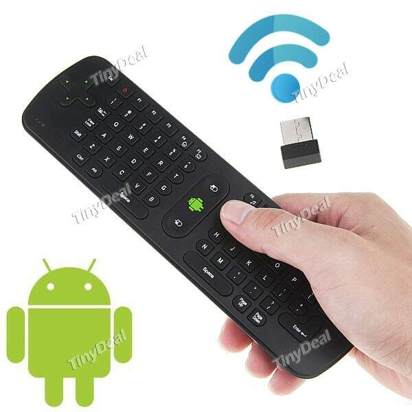 (Measy) RC11 2.4GHz Fly Air Mouse Teclado / Smart TV para PC Android TV Box