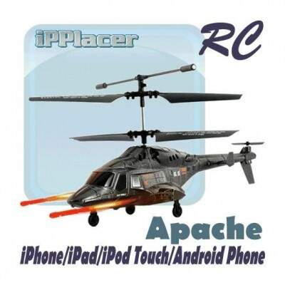 Apache RC iHelicopter - iPad / iPhone / iPod Touch / Android Phone Controlado