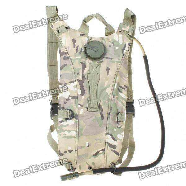Durable Survival Water Bag Backpack with Water Tube - Camouflage camelback