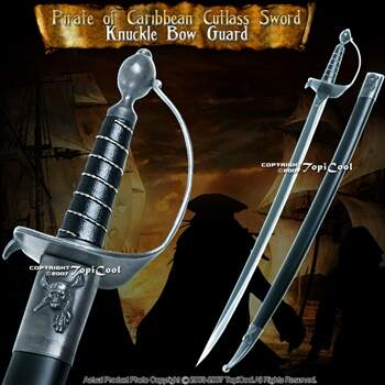 Classic Replica espada piratas do caribe Cutlass Espada Bow Guarda Cosplay Filme Replica