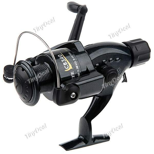 Classic Metal Longa Elenco Spool molinete 3-Ball Bearing Reel Fishing Bait Feeder Reel Relação 5.1:1 Pesqueiro HHF-190043