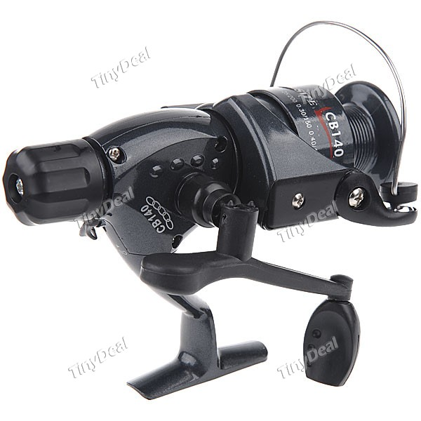 Classic Metal Longa Elenco Spool molinete 1-Ball Bearing Reel Fishing Bait Feeder Reel Relação 5.1:1 Pesqueiro HHF-190042