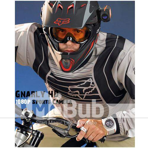 Gnarly HD - 1080p High Definition Camera Action Sports com LCD
