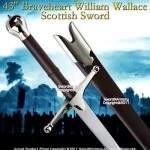43 Braveheart escocês William Wallace Espada Claymore