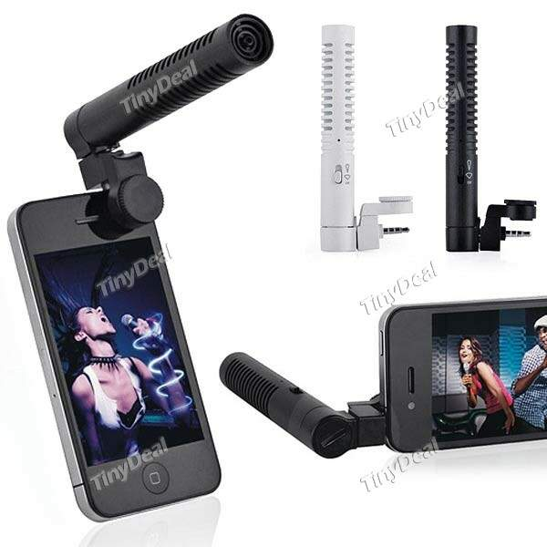 Portátil Inteligente Directional Microfone Mic liveaction para iPhone iPod MTH-204370