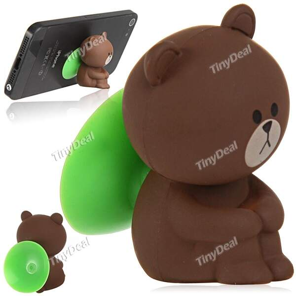 Cute Cartoon Style Sucker Stand Suction Decoration for Samsung HTC Sony Smart Phones MTH-220764