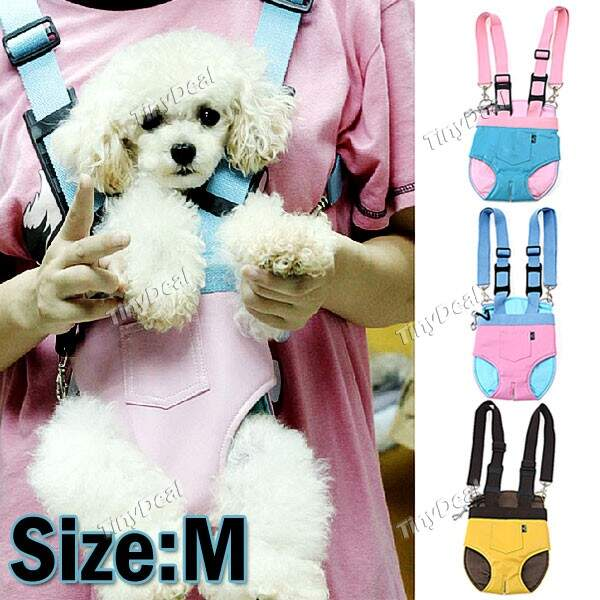 Pet Dog Carrier Bag Soft PU Leather Waterproof Pet Carrier Bag for Small Dogs - Medium Size