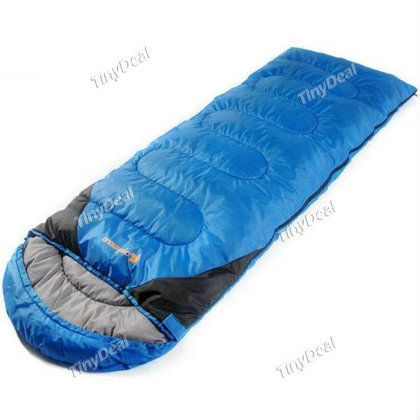 Saco de dormir Waterproof Heat retaining Envelope with Hood Sleeping Bags for Camping or Travelling QCH-219632
