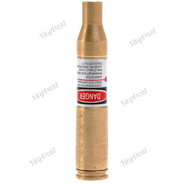 30-06/25-06/.270 Cartridge Laser Bore Sighter Boresighter Visão Âmbito Red Dot HBC-152299