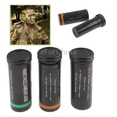 3 Color Face Paint Sticks Camo Camouflage