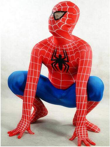 Evening/Party Lycra Spider-Man Zentai Halloween Cosplay Costumes