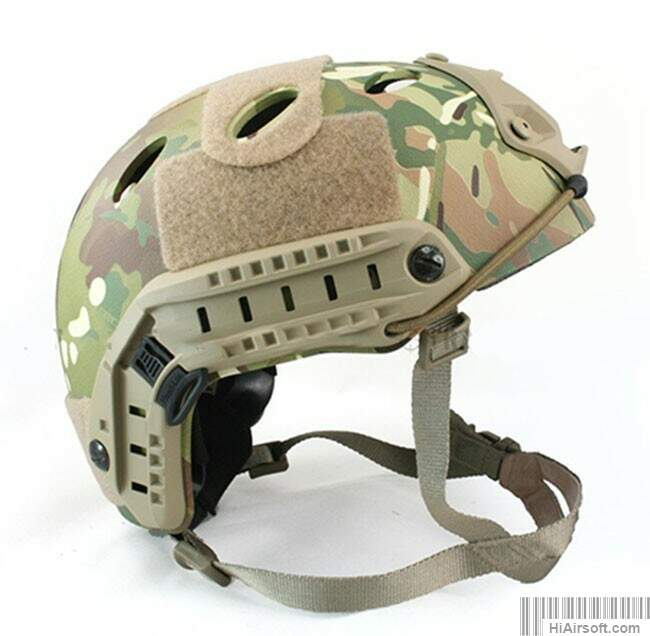 Rápido Estilo Base Jump Helmet Navy Seal carbono Shell Multicam