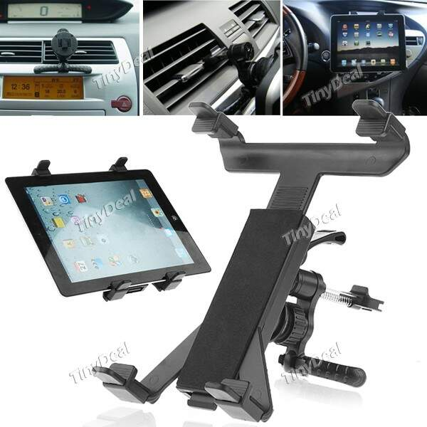 Universal Car Air Vent Mount Tablet PC Swivel Stand Holder Cradle Suporte para iPad Samsung Galaxy
