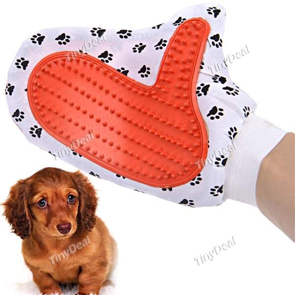 Pet Glove Pet Bath Massage Brush Pet Bubble Bath HPA-219345