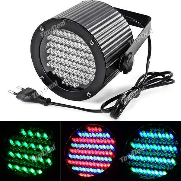 30W 86-LED 4-Channel RGB Stage Festa Show de Luzes LED Disco DMX Stage Lighting Projetor Luz HLT-260901