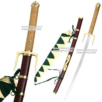 Champloo Mugen Typhoon Swell Espada Anime Video Game Fantasia Katana Ninja Cosplay