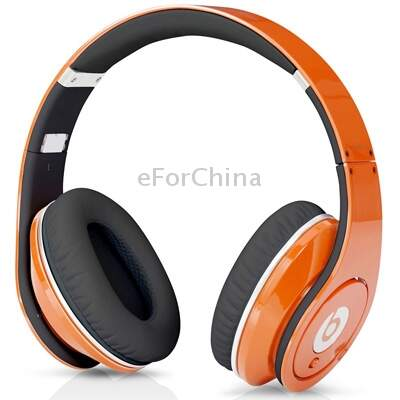 Beats by dr. dre estúdio High Definition Isolamento Produzido Headphone On-Ear com Line-controle e microfone (laranja)