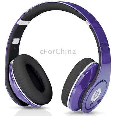 Beats by dr. dre estúdio High Definition Isolamento Produzido Headphone On-Ear com Line-controle e microfone (roxo)