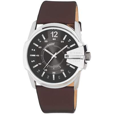 Diesel Chief Master Time Brown DZ1206