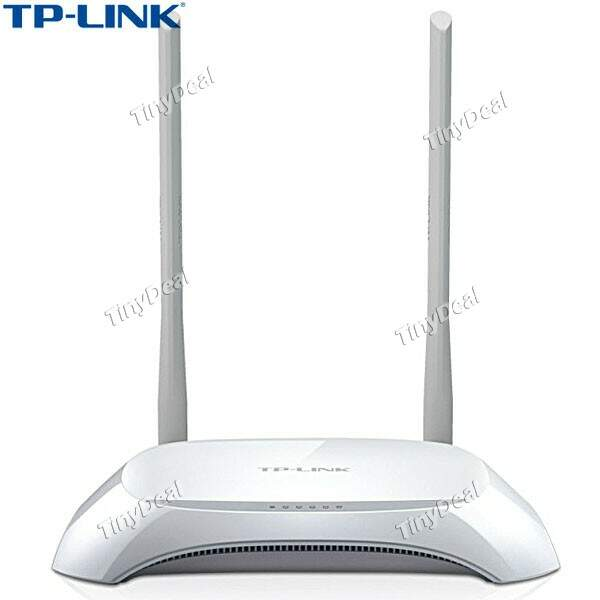 (TP-LINK) TL-WR841N 2.4G 300Mbps 4 Ports Wireless Router w/ Antenna - White ECAHP-280996