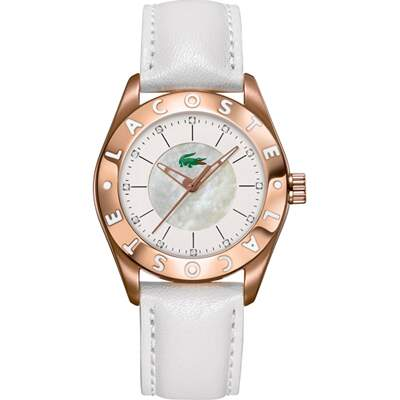Lacoste Leisure Biarritz White Gold LC2000534