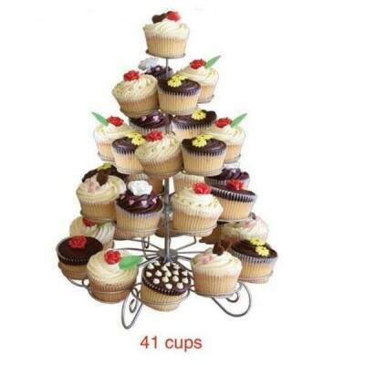 5 Tiers metal Cupcake stand 41 Cupcakes Árvore titular Partido Uso