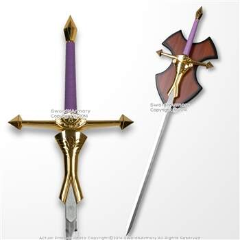 41,5 Princesa Zelda Feminino Espada roxo Handle Video Game Anime Replica Cosplay
