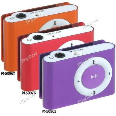 MP3 Player Music Clipe slot