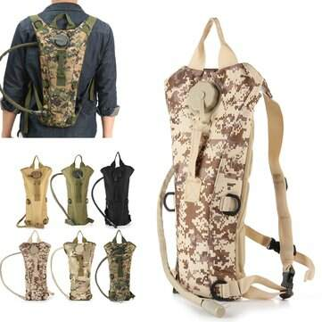 Outdoor Camping 2.5L Molle Militar Tactical Hydration Backpack Water Bag