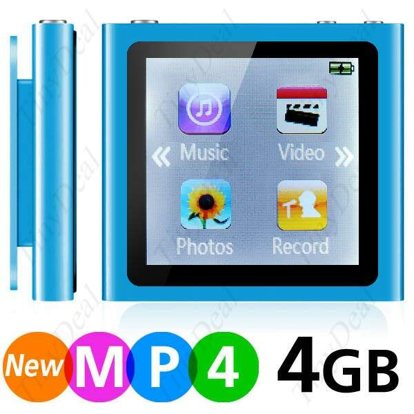 Clipe MP4 Player touch screen