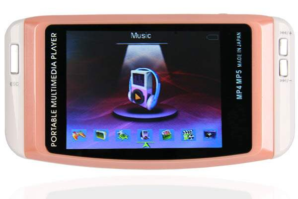 4 GB MP3 MP4 MP5 Out TV Game Portable Multimedia Player