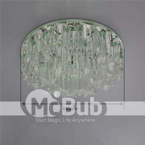 3w Led cristal branco morno Light teto