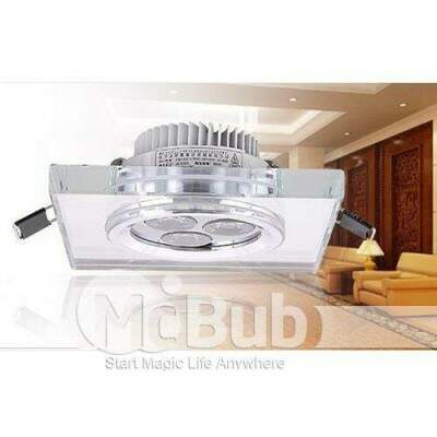 3w descia High Power LED Light teto Light cristalina Quente