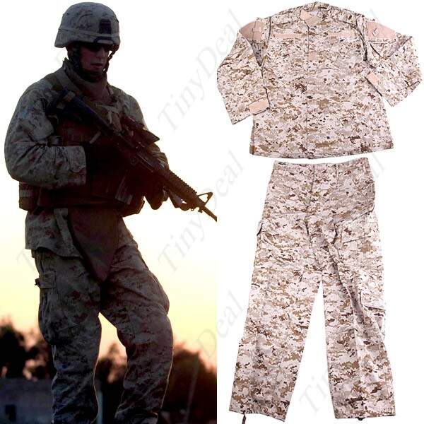 Desert Digital Combate battledress Uniforme Roupa treinamento de luta paintball