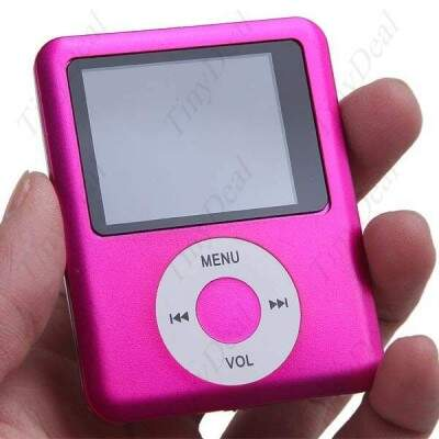 8 GB MP3 MP4 Player com Rádio FM Sound Recorder e-Book