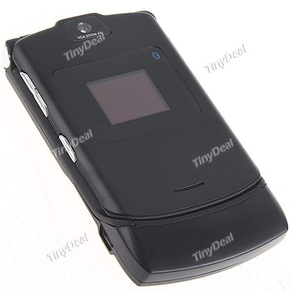 Classic V3 Flip Style Mobile Cell Phone+ GSM 850/900/1800/1900MHZ Unlocked Camera Bluetooth