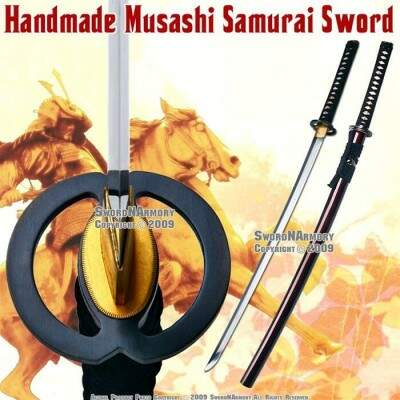 Katana samurai Munetoshi Light Cutter Red