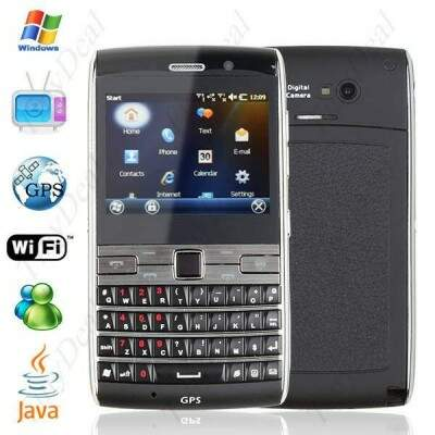 Windows 6.5 QWERTY AT & T T-Mobile Vodafone Unlocked Cell Phone Smart Mobile + GPS + WiFi + JAVA + TV + FM