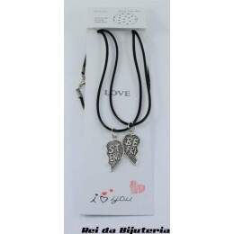 CL4089 - 2 Colares Bijuteria Fashion Best Friends - M1