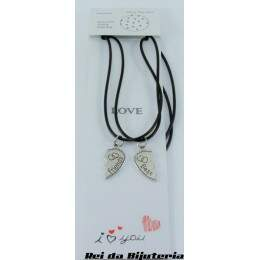 CL4090 - 2 Colares Bijuteria Fashion Best Friends - M2