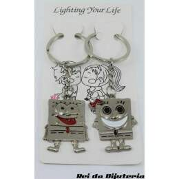 AC0791 - Par de Chaveiros Lighting Your Life - M1